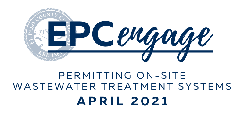 "EPC Engage Logo with text that reads ""Permitting On-Site Wastewater Treatment Systems"""
