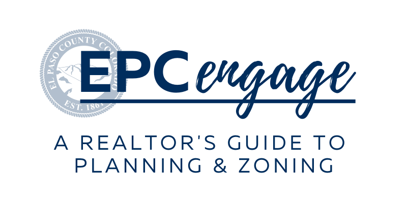 """EPC Engage logo with text that reads """"A Realtor's Guide to Planning & Zoning"""""""